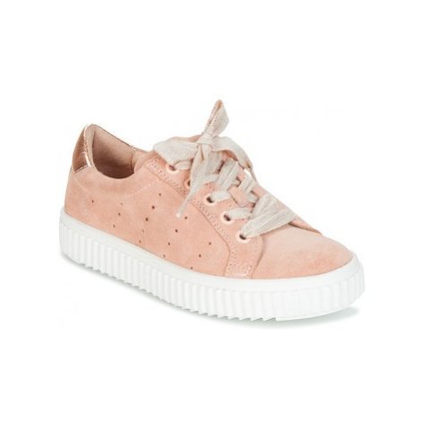 Acebo's RAME girls's Children's Shoes (Trainers) in Pink