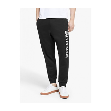 Calvin Klein Logo Knit Jogging Bottoms, Black