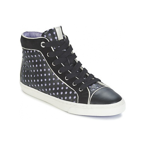 Geox NEW CLUB B women's Shoes (High-top Trainers) in Black