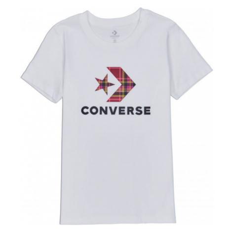 Converse WOMENS STAR CHEVRON PLAID INFILL TEE - Women's T-shirt