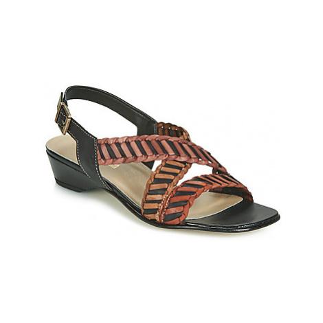 Samoa NOEMO women's Sandals in Black