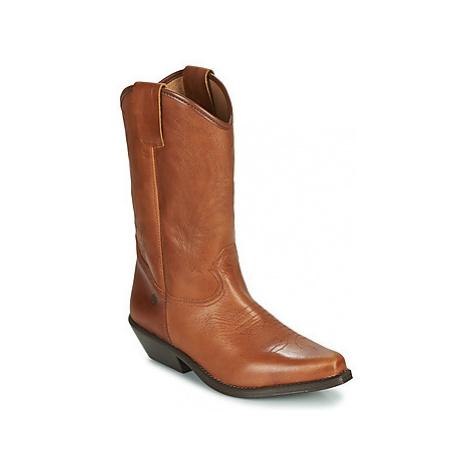 Betty London LOVA women's High Boots in Brown