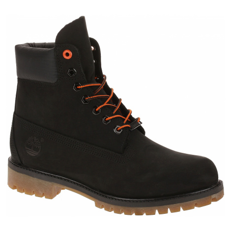 shoes Timberland Icon 6 Premium Boot - A1U7M/Black Nubuck - men´s