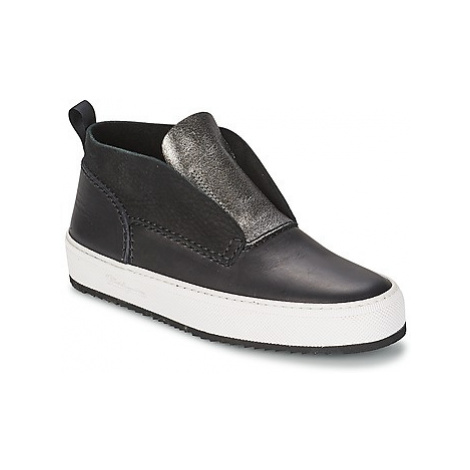 Barleycorn CLASSIC women's Shoes (High-top Trainers) in Black