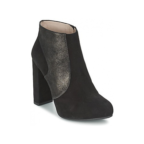 Unisa SAFIR women's Low Ankle Boots in Black