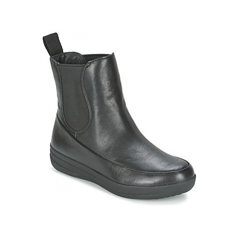 FitFlop FF-LUX CHELSEA BOOT women's Mid Boots in Black