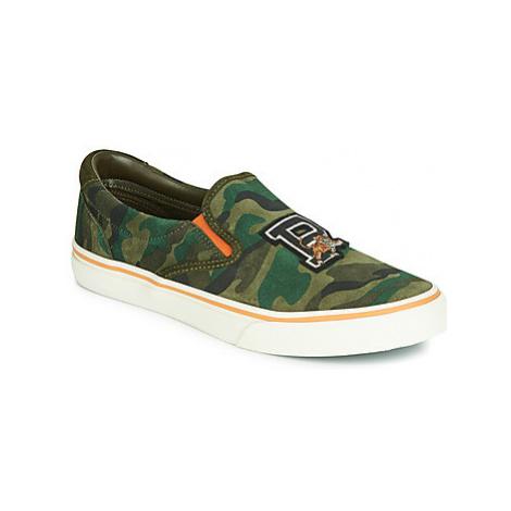 Polo Ralph Lauren THOMPSON men's Slip-ons (Shoes) in Green