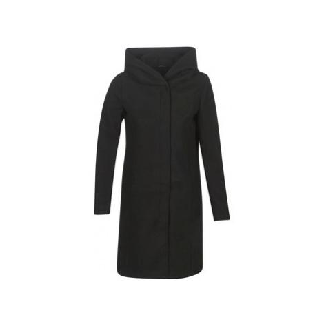 Only ONLSEDONA women's Coat in Black