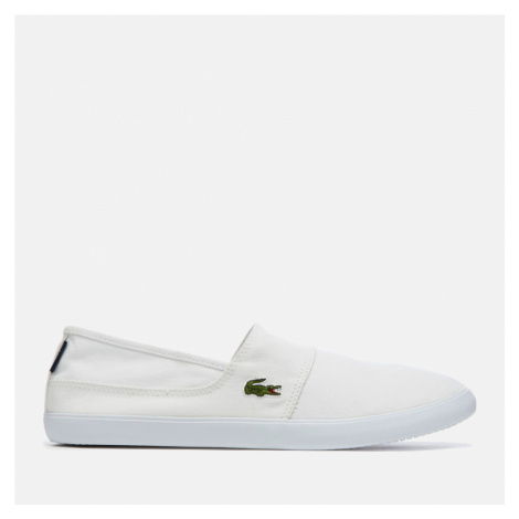 Lacoste Men's Marice Bl 2 Canvas Slip-On Pumps - White - UK