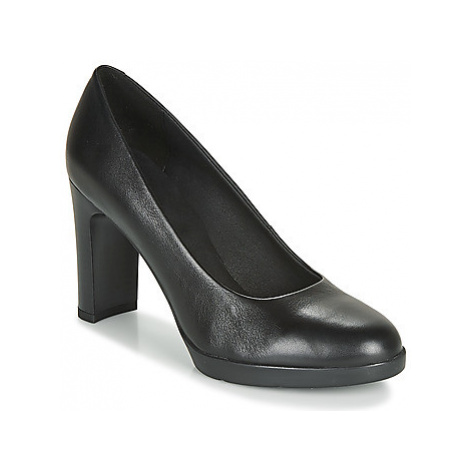 Geox D ANNYA HIGH women's Court Shoes in Black