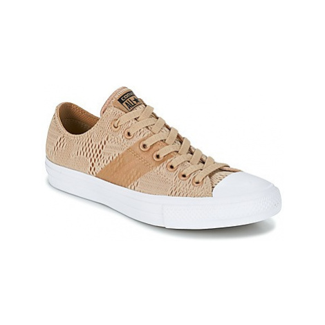 Converse CHUCK TAYLOR ALL STAR II - OX men's Shoes (Trainers) in Beige