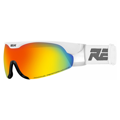 glasses Relax Cross - HTG34N/Shiny White/Bronze/Inferno Platinum