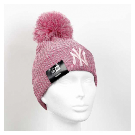 New Era Womens Eng Fit Knit NY Yankees Pink