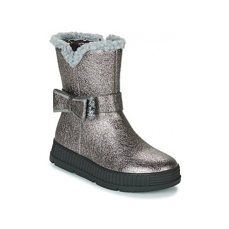 Gioseppo DIDDERSE girls's Children's Mid Boots in Silver
