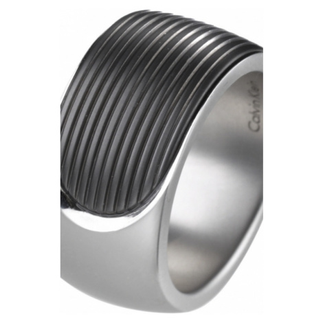 Mens Calvin Klein Stainless Steel Size T/U Audacious Ring KJ4CMR280110