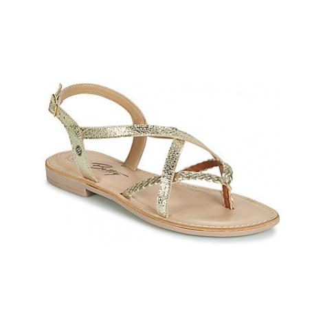 Betty London JADALESE women's Sandals in Gold