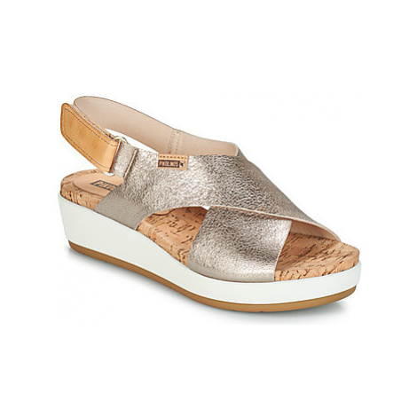 Pikolinos MYKONOS W1G women's Sandals in Silver