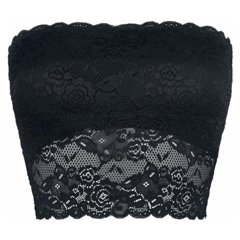 Black Premium by EMP - Whispers In The Dark - Girls Bandeau Top - black