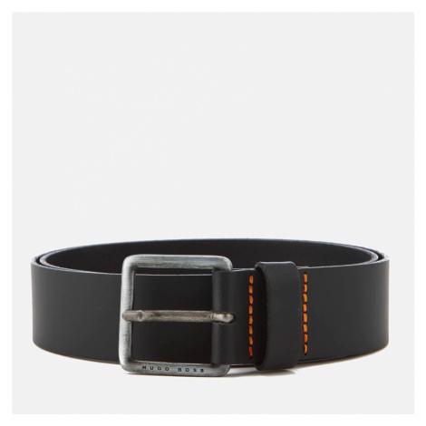 BOSS Men's Jeeko Leather Belt - Black Hugo Boss