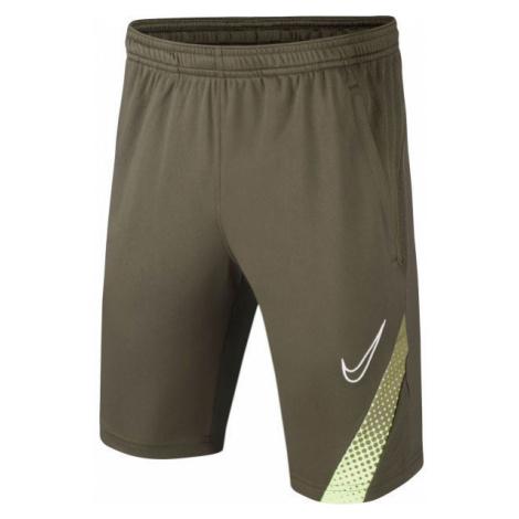Nike DRY ACD M18 SHORT B dark green - Boys' football shorts
