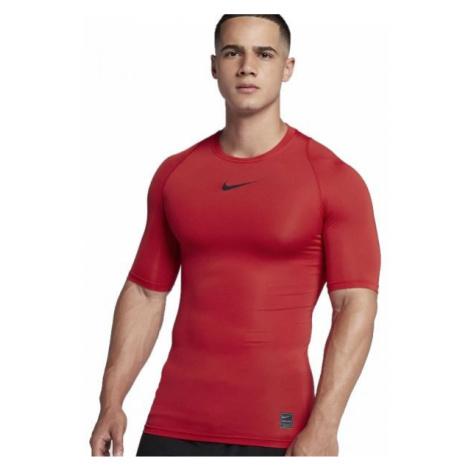 Nike NP TOP SS COMP red - Men's T-shirt