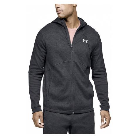 sweatshirt Under Armour Double Knit Zip - 001/Black - men´s