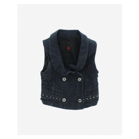 John Richmond Kids Vest Blue