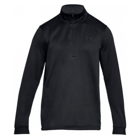 Under Armour FLEECE 1/2 ZIP black - Men's sweatshirt