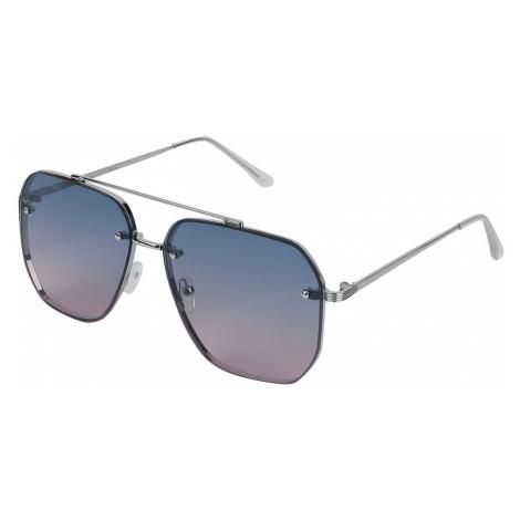 Urban Classics Tye Dye Viscose Resort Shirt Sunglasses silver coloured