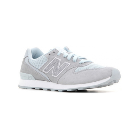 New Balance WR996LCC women's Shoes (Trainers) in Blue