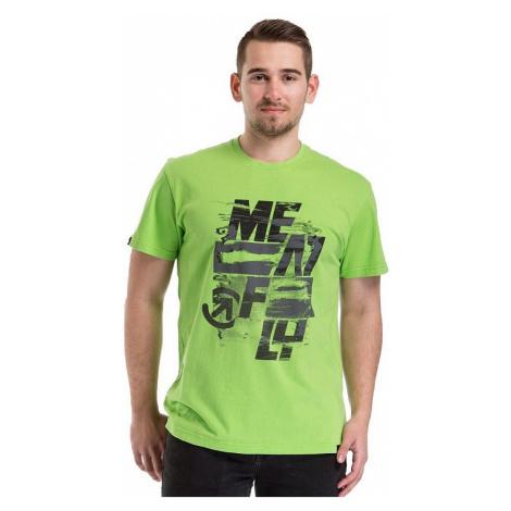 T-Shirt Meatfly Burnout - E/Green Flash