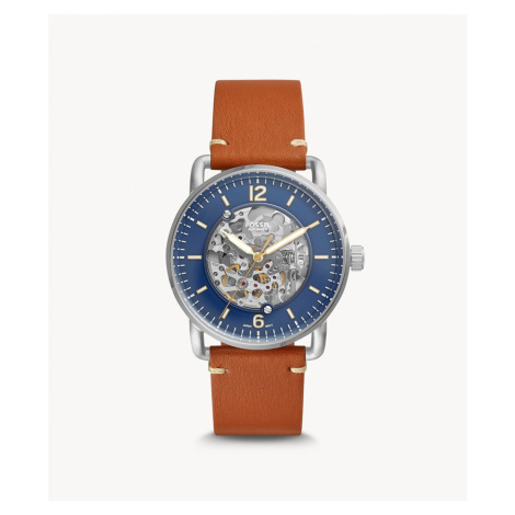 Fossil Men's Commuter Automatic Brown Luggage Watch