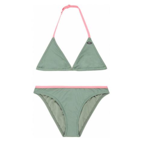 O'Neill PG ESSENTIAL TRIANGLE BIKINI light green - Girl's bikini