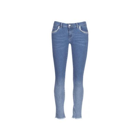 Kaporal SCOOP women's Skinny Jeans in Blue