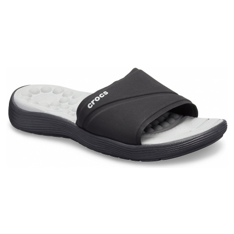 shoes Crocs Reviva Slide - Black/Black - women´s