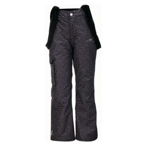 2117 TÄLLBERG dark gray - Kids' ski trousers