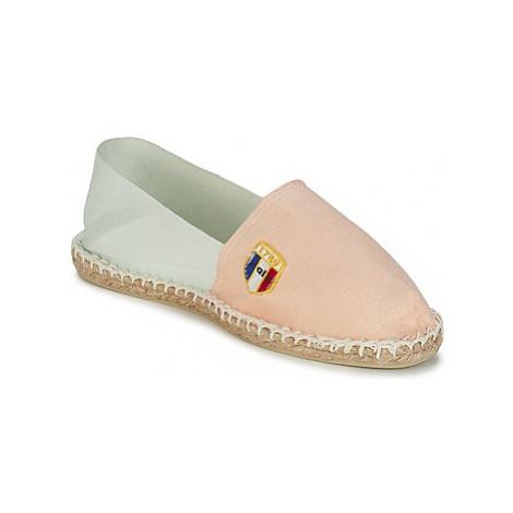 1789 Cala CLASSIQUE BICOLORE PASTEL women's Espadrilles / Casual Shoes in Orange