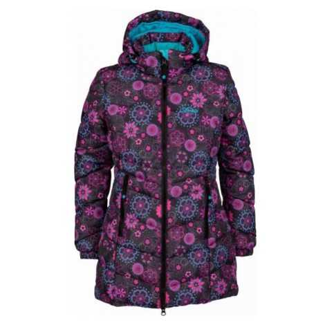 Lewro BRUNELA brown - Girls' quilted coat