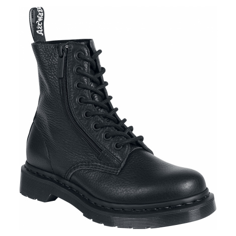 Dr. Martens - 1460 Pascal With Zip Aunt Sally - Boots - black Dr Martens