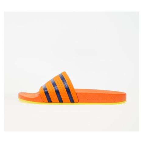 adidas Adilette Trace Orange/ Hi-Res Orange/ Dark Blue