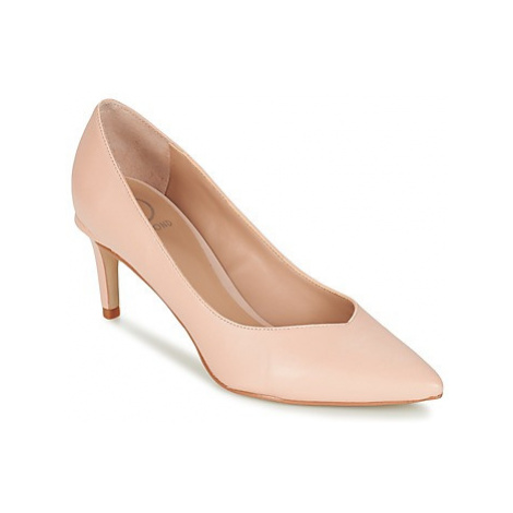 Dumond MERICO women's Court Shoes in Pink