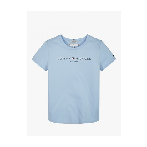 Tommy Hilfiger Girls' Essential T-Shirt, Blue