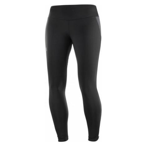 Salomon AGILE WARM TIGHT black - Women's leggings