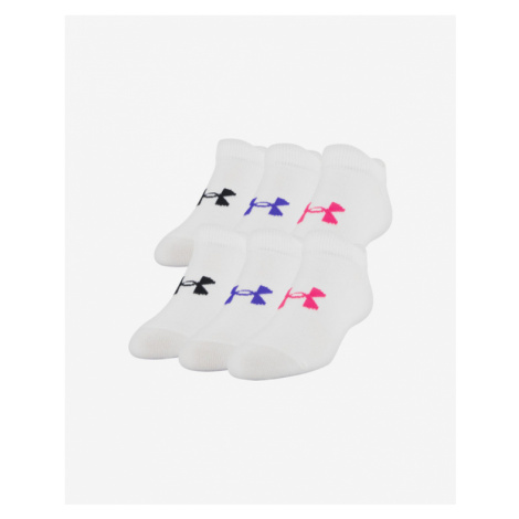 Under Armour Essentials Kids socks 6 pairs White