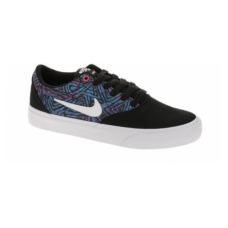 shoes Nike SB Charge Canvas Premium GS - Black/White/Laser Blue/Watermelon - unisex junior