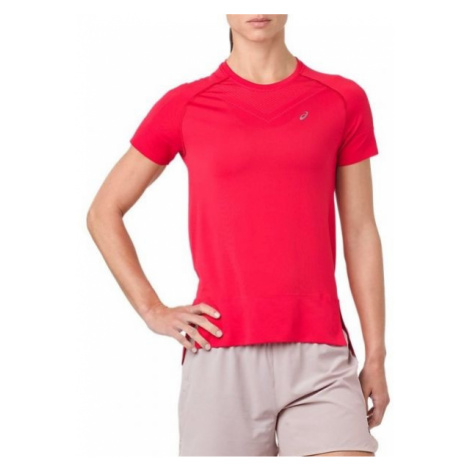 Asics SEAMLESS SS TOP pink - Women's running T-shirt