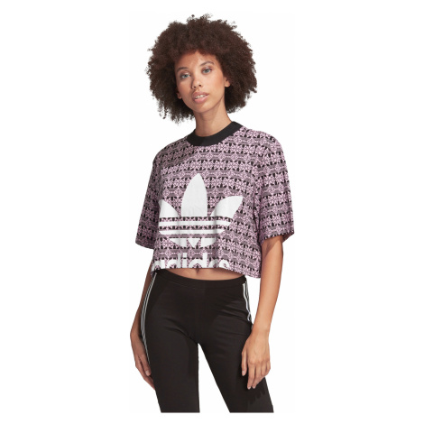 adidas Originals Trefoil T-shirt Violet