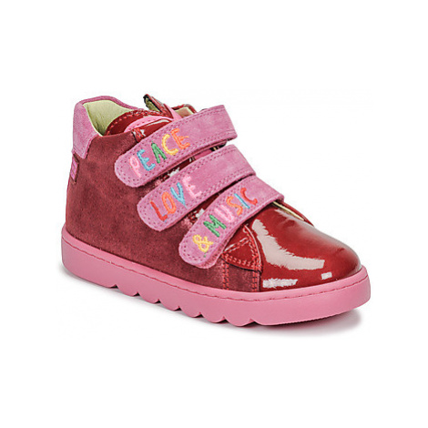 Agatha Ruiz de la Prada HOUSE girls's Children's Shoes (High-top Trainers) in Red