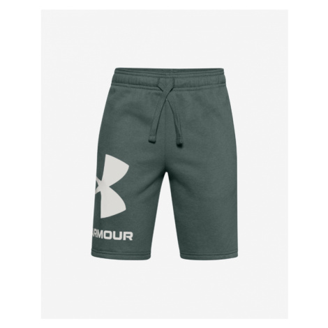 Under Armour Rival Kids Shorts Green
