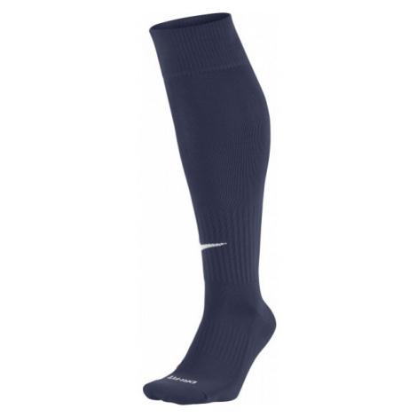 Blue men's thermal over-the-calf socks